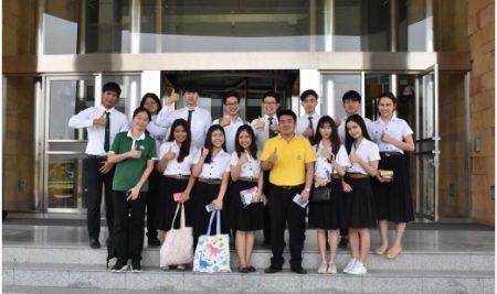 นิสิตวิชา 01101454 สถาบันการเงินและระบบเศรษฐกิจ ไปศึกษาดูงานนอกสถานที่ ณ ธนาคารแห่งประเทศไทย เมื่อวันพฤหัสบดีที่ 9 พฤษภาคม 2562  โดย ดร.ธีรศักดิ์  ทรัพย์วโรบล