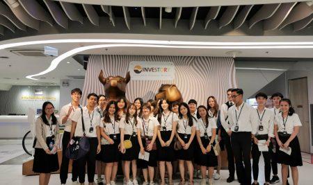 กิจกรรมศึกษาดูงานนอกสถานที่วิชา 01101452 Financial Market Theory  วันศุกร์ที่ 15 พฤศจิกายน พ.ศ. 2562 เวลา 12.00 – 17.00 น.  ณ ตลาดหลักทรัพย์แห่งประเทศไทย กรุงเทพฯ โดย อาจารย์ธนสิน ถนอมพงษ์พันธ์