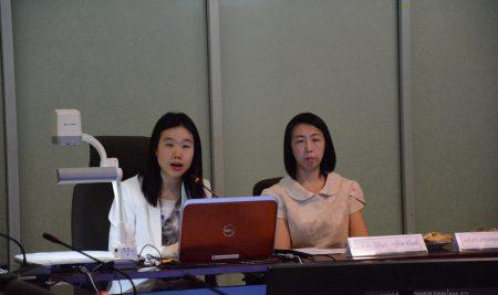 """ผู้เข้าร่วมฟัง Brown Bag Seminar ประจำปี 2563 เรื่อง """"Economic Conditions and Mental Health in Thailand"""" (สภาพเศรษฐกิจและปัญหาสุขภาพจิตในประเทศไทย) วันศุกร์ที่ 7 สิงหาคม 2563 เวลา 9.30-11.30น. ห้องประชุม EC 5628 ชั้น 6 อาคารปฏิบัติการ คณะเศรษฐศาสตร์ และทางออนไลน์ด้วยระบบ Google Meet"""